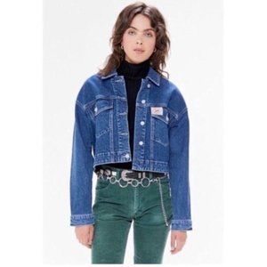 NWT Urban Outfitters x Lee Cropped Denim Jacket XS